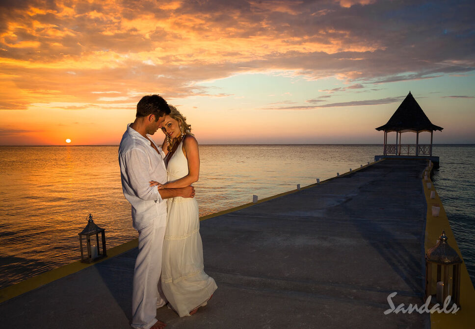 You should choose a sandals resort for your next romantic for Best wedding honeymoon destinations