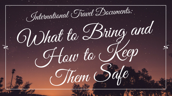 What to Bring and How to Keep Them Safe