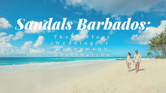 Sandals Barbados: The Perfect Wedding or Honeymoon Destination