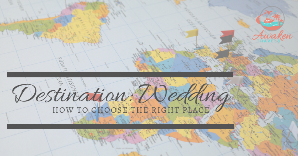 Seven tips to pick your destination wedding location