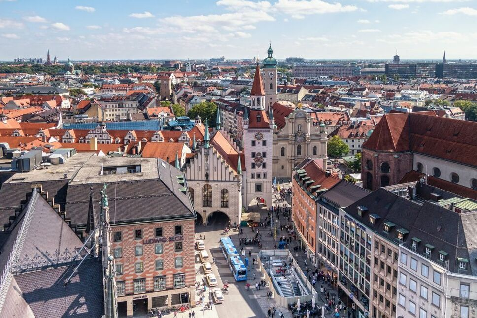 Munich's charm is a great spot for your September honeymoon.