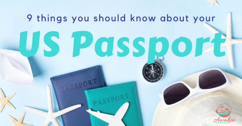 9 Things to Know About Your US Passport