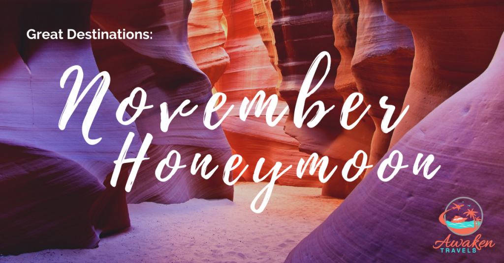 Destination Inspiration: A November Honeymoon