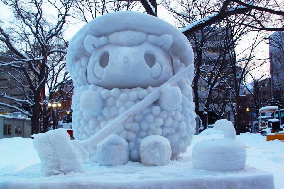 Sapporo ice festival