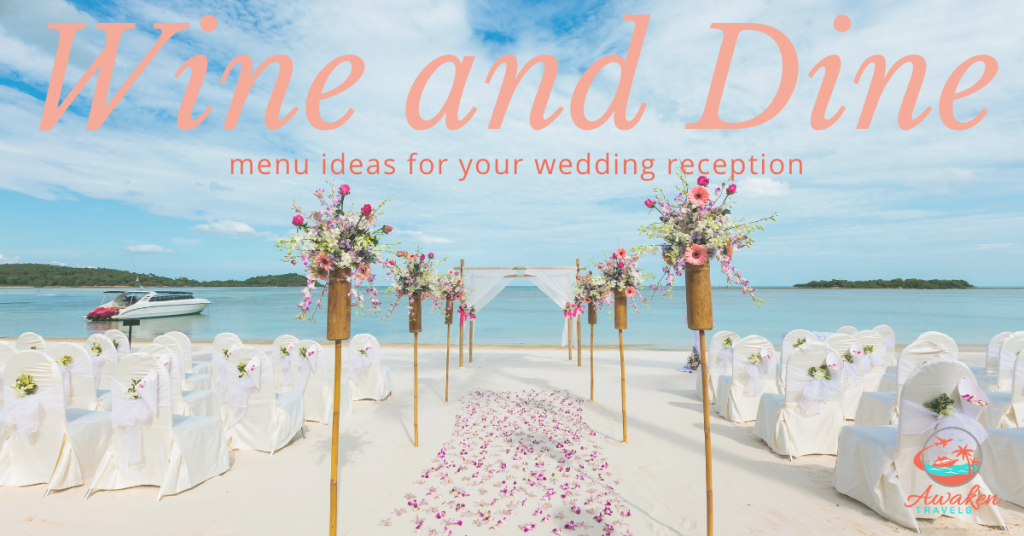 Fun Ideas for Your Wedding Reception Menu