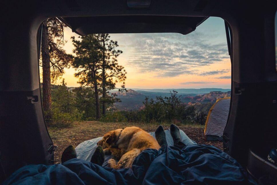 camping road trip