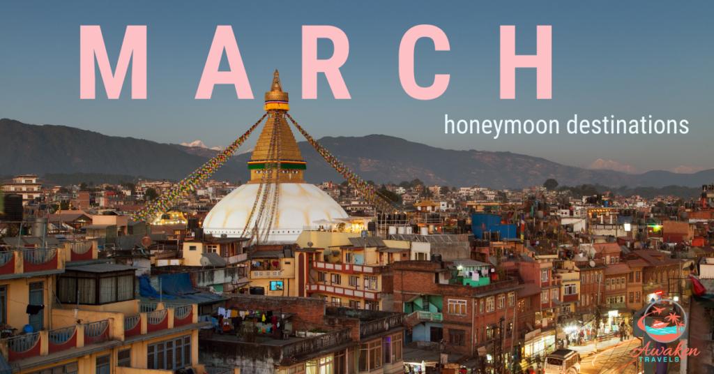 March Honeymoon Destinations