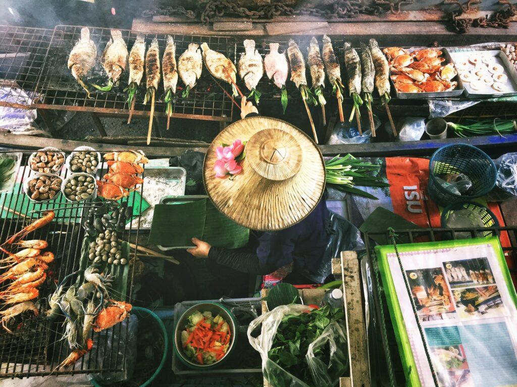 Street food travel inspiration