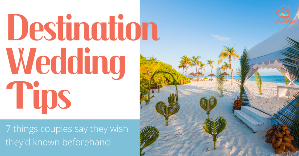 Top Destination Wedding Tips from Couples