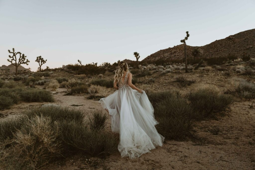Joshua Tree bride