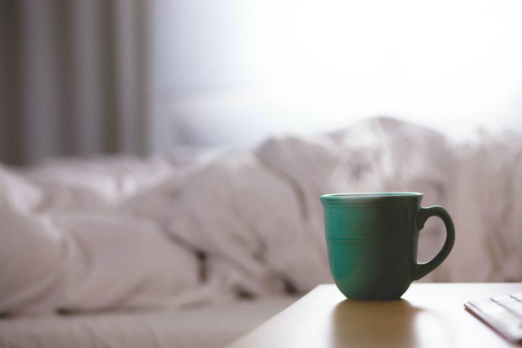Tea before sleeping at night