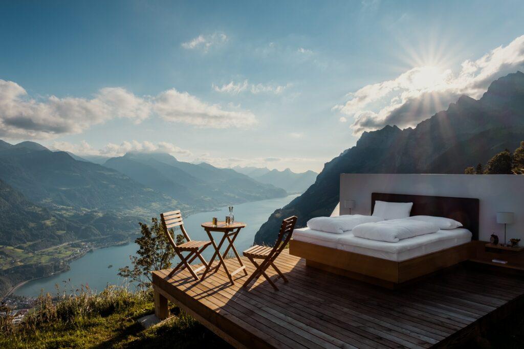 An amazing night's sleep in Switzerland