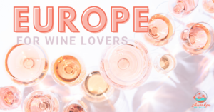 Europe wine locations