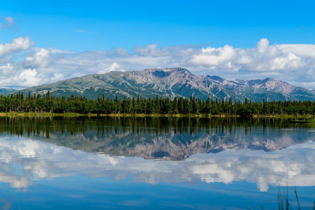 views at Denali National Park in Alaska