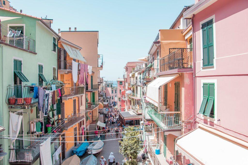 Cinque Terra streets