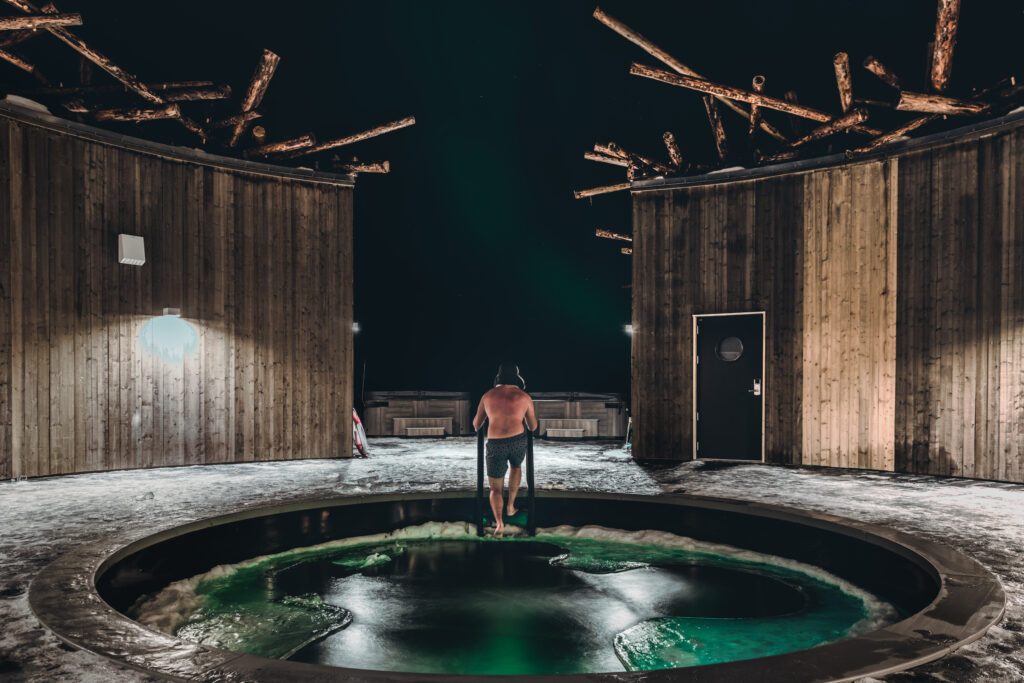 Arctic Bath resort in Sweden