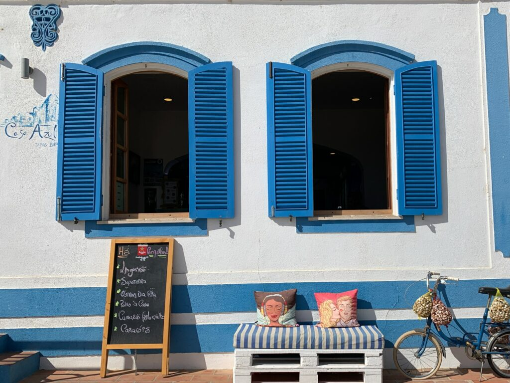 Portugal's whitewashed buildings