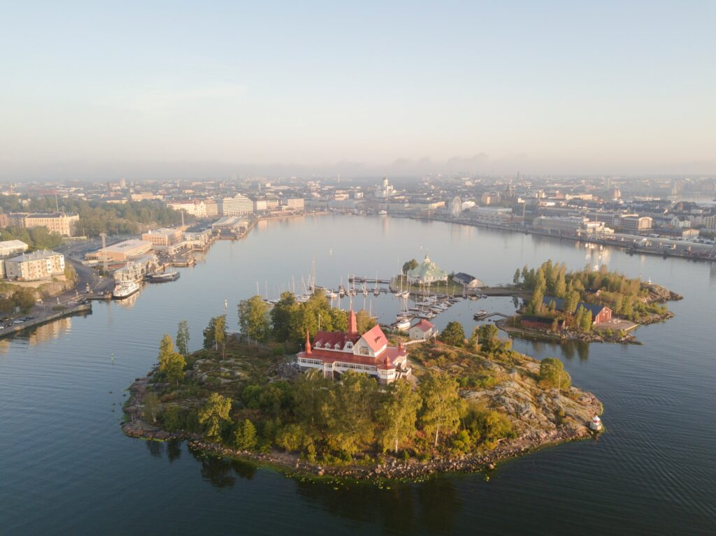 the outer islands of Helsinki, Finland