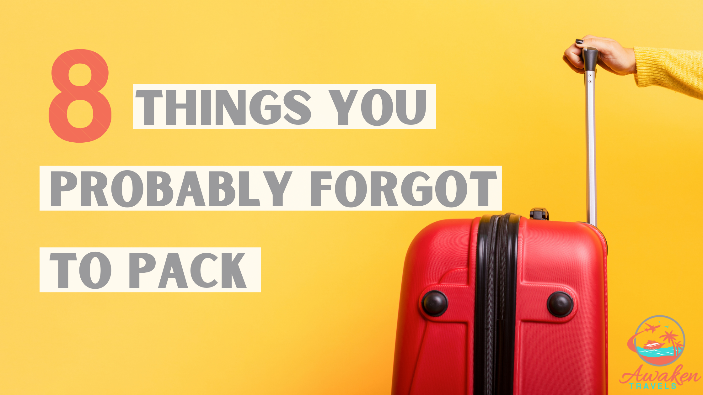 forgot to pack cover image
